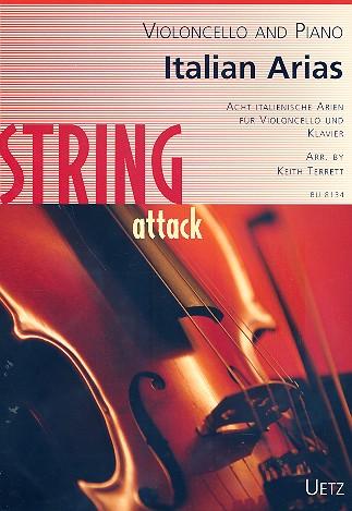 - Italian Arias : for violoncello and piano