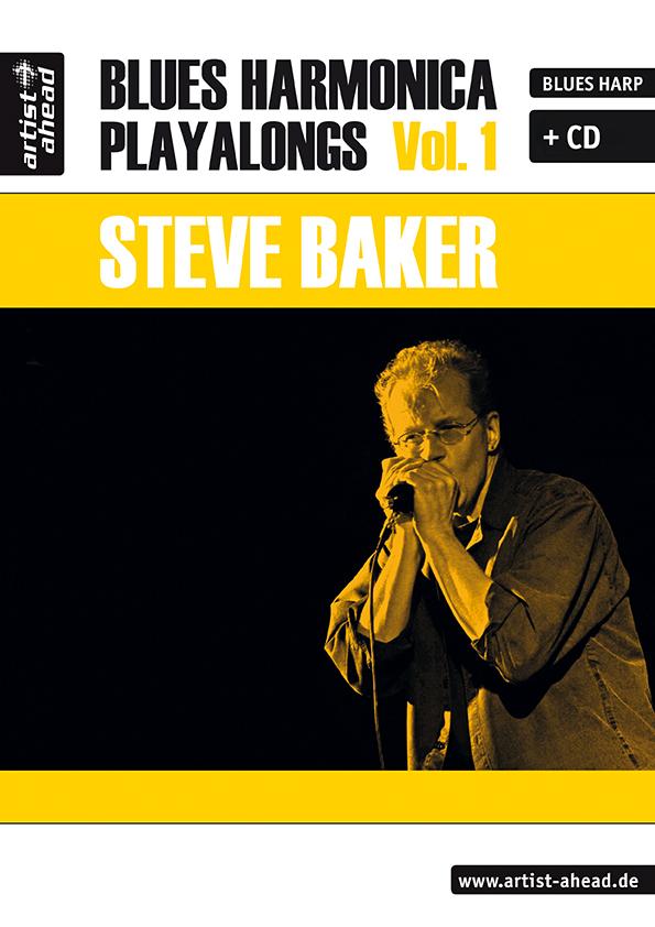 Blues Harmonica Playalongs Band 1 (+CD) (dt)