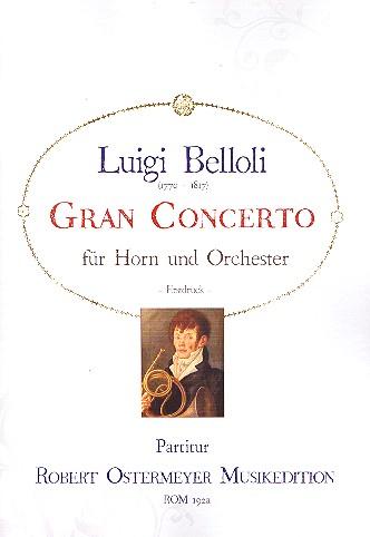 Gran Concerto: für Horn und Orchester