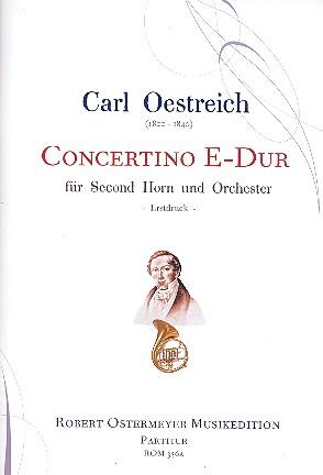 Concertino E-Dur: für second Horn (Horn tiefe Lage) und Orchester