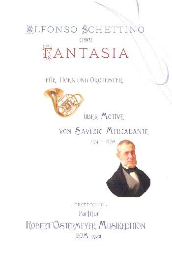 Fantasia über Motive von Saverio Mercadante: für Horn und Orchester