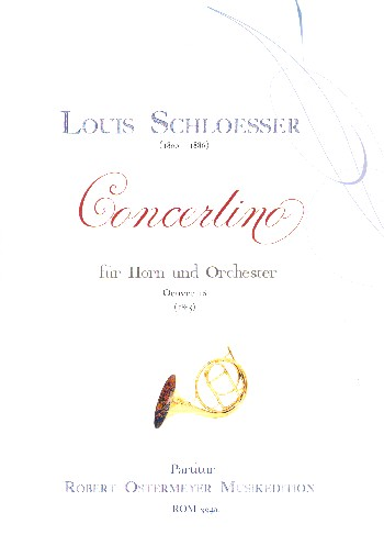 Concertino opus.16: für Horn und Orchester
