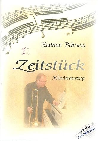 Zeitstück für Posaune und Kammerorchester: für Posaune und Klavier