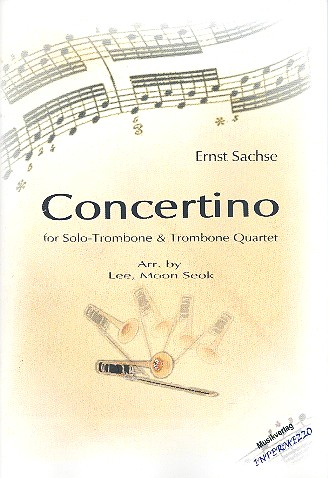 Concertino: für Posaune solo und 4 Posaunen