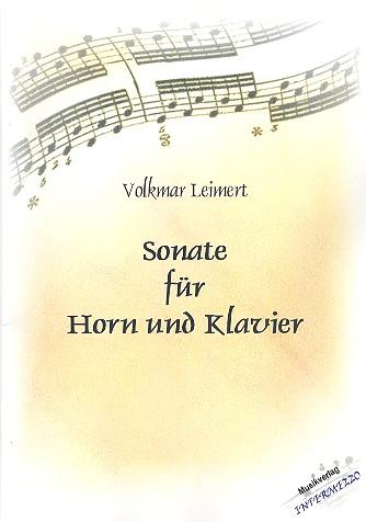 Sonate: für Horn und Klavier