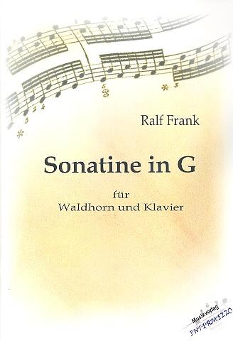 Sonatine in G: für Horn und Klavier
