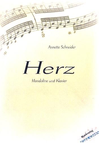Herz: für Mandoline und Klavier