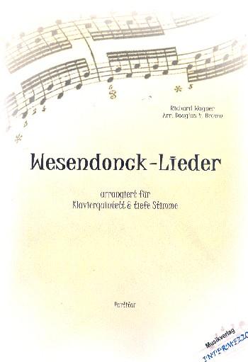 Wesendonck-Lieder : - Vollanzeige.