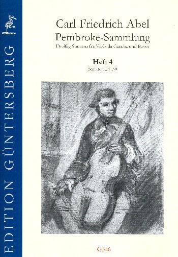Pembroke-Sammlung Band 4 (Nr.24-30) : - Vollanzeige.