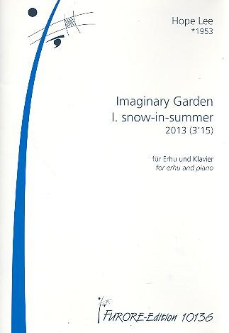 Snow-in-Summer: für Erhu und Klavier Partitur