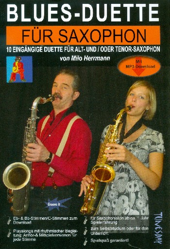 Blues-Duette (+Download): für 2 Saxophone