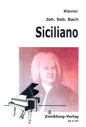 Siciliano BWV1031 : - Vollanzeige.