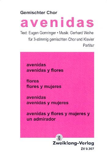 Weihe, Gerhard - Avenidas :