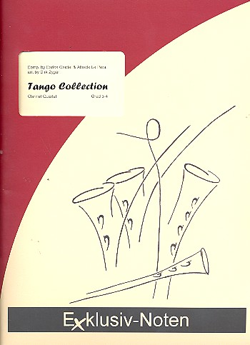 Tango Collection: for 4 clarinets score and parts