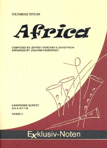Africa: für 5 Saxophone