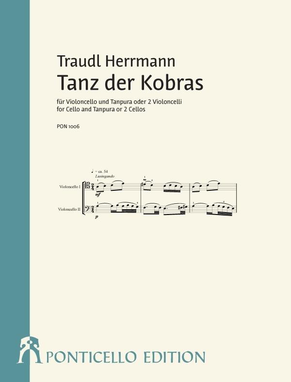 Herrmann, Traudl - Tanz der Kobras : für Violoncello und