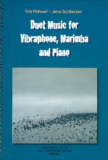 ConcorDance I-II: für Marimbaphon und Klavier