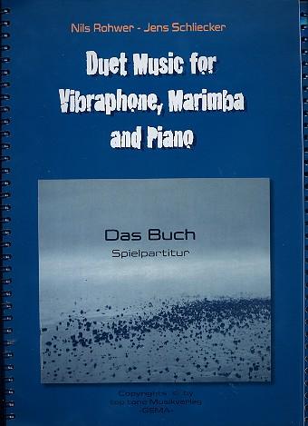 Das Buch: für Marimbaphon und Klavier