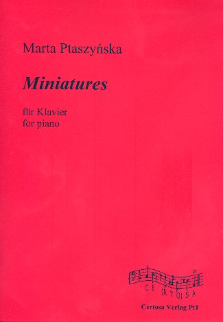 Miniatures: für Klavier