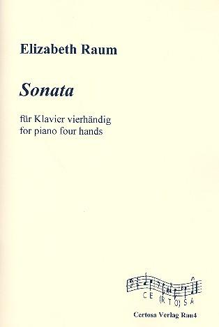 Sonata: für Klavier zu 4 Händen Spielpartitur