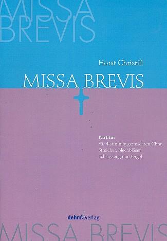 Missa brevis: für gem Chor und Orchester