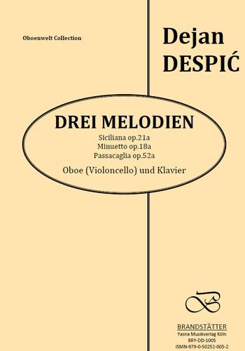 3 Melodien opus.21: für Oboe (Violoncello) und Klavier