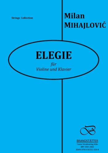 Elegie: für Violine und Klavier