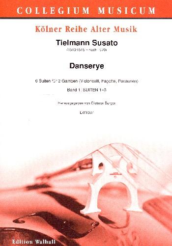 Danserye Band 1 (Suiten Nr.1-3) : - Vollanzeige.