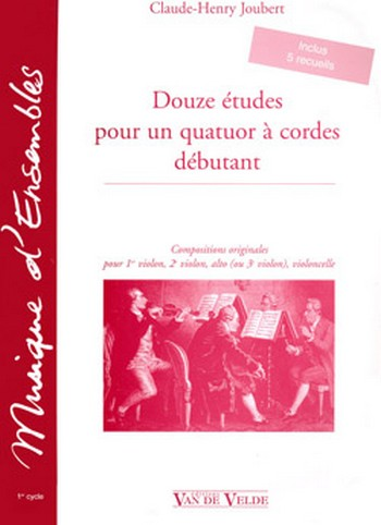 12 Études pour un quatuor à cordes débutant: für Streichquartett