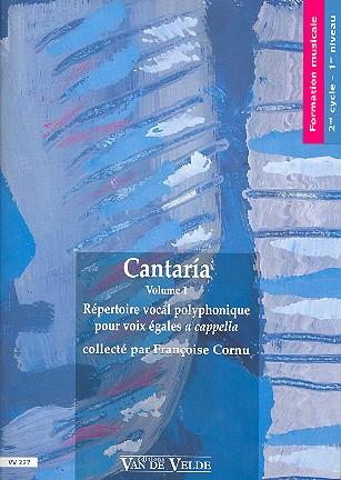 Cantaría vol.1: pour choeur a femmes a cappella