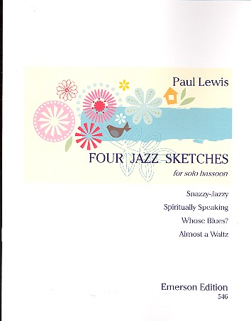 4 Jazz Sketches: for bassoon