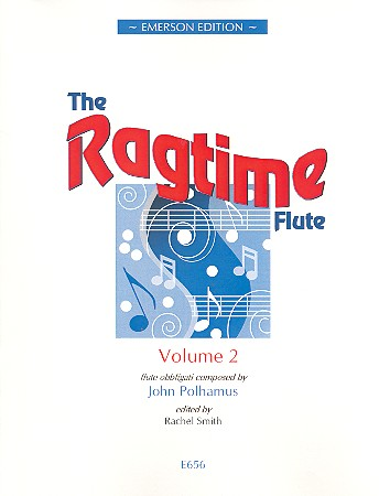 The Ragtime Flute vol.2: for flute and piano