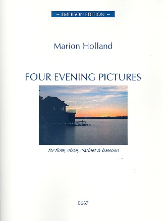 4 Evening Pictures: for flute, oboe, clarinet and bassoon