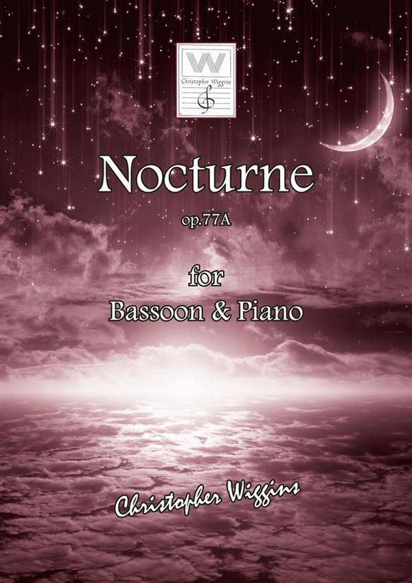 Nocturne opus.77a: for bassoon and piano