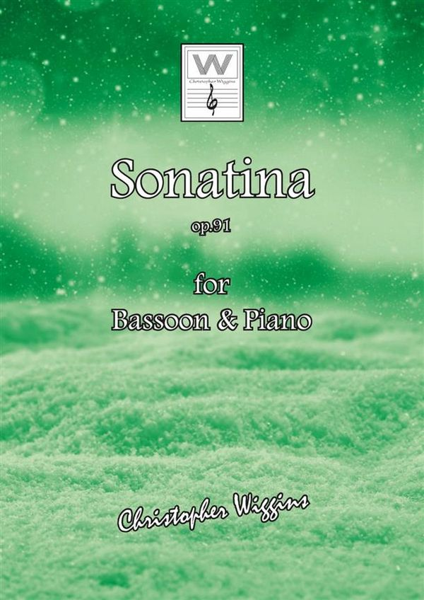 Sonatina opus.91a: for bassoon and piano