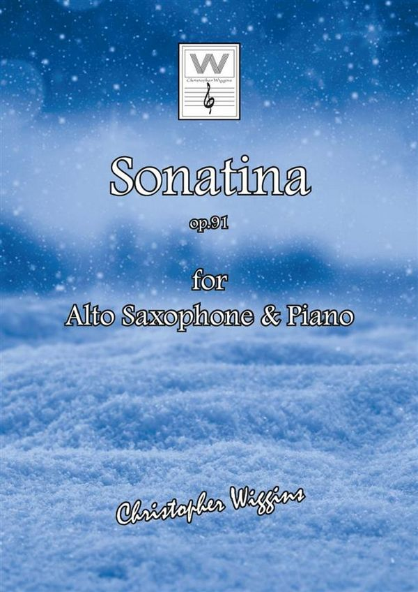 Sonatina opus.91a: for alto saxophone and piano