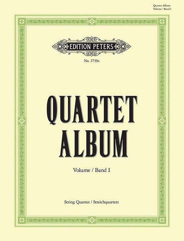 Quartett-Album Band 1: für Streichquartett