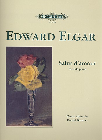 Elgar, Edward - Salut d'amour : for piano