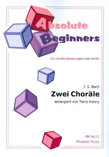 2 Choräle: für variables Ensemble (sehr leicht)
