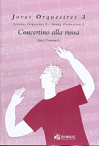 Concertino alla russa: for piano and young orchestra