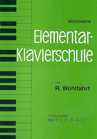 Berühmte Elementar-Klavierschule opus.222 Band 1-5
