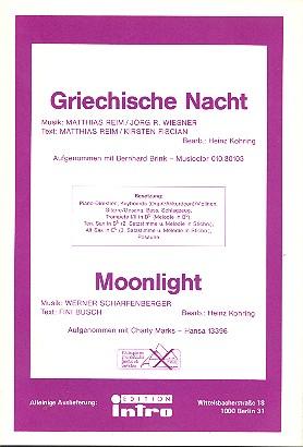 Griechische Nacht und Moonlight: für Salonorchester