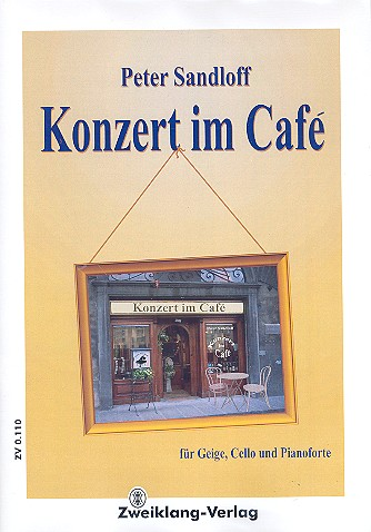 Konzert im Café: für Combo Partitur und Stimmen
