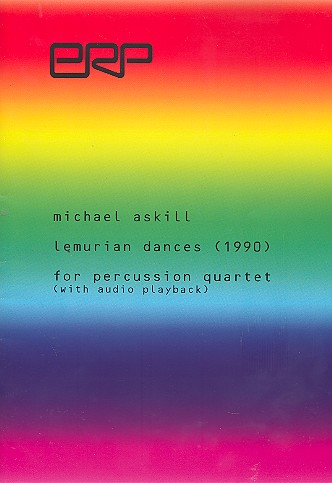 Lemurian Dances (+CD): for percussion quartet score