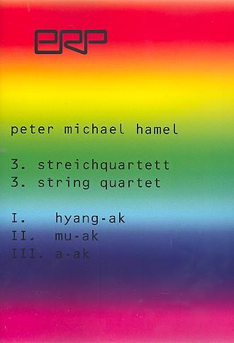 Streichquartett Nr.3: für 2 Violinen, Viola und Violoncello