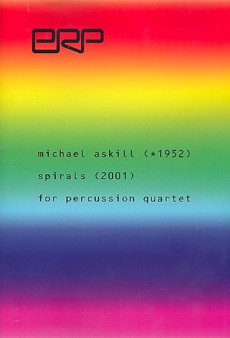 Spirals: for percussion quartet score