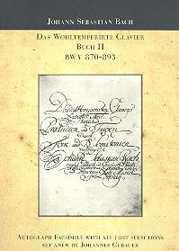 Das wohltemperierte Klavier Band 2 BWV870-BWV893