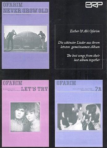 Esther und Abi Ofarim - 3 Lieder: für 1-2 Stimmen und Klavier