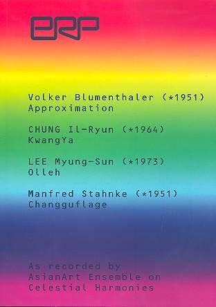 4 Stücke für Changgu oder Daeum und Ensemble