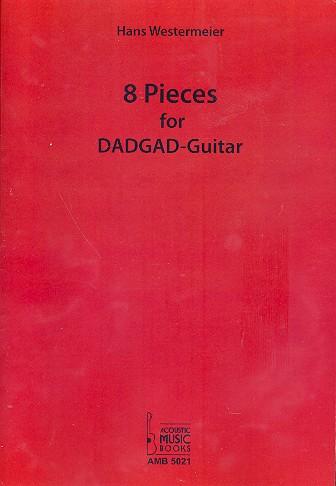 8 Pieces for DADGAD-Guitar: für Gitarre/Tab